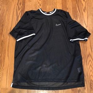Nike mesh over size dress top